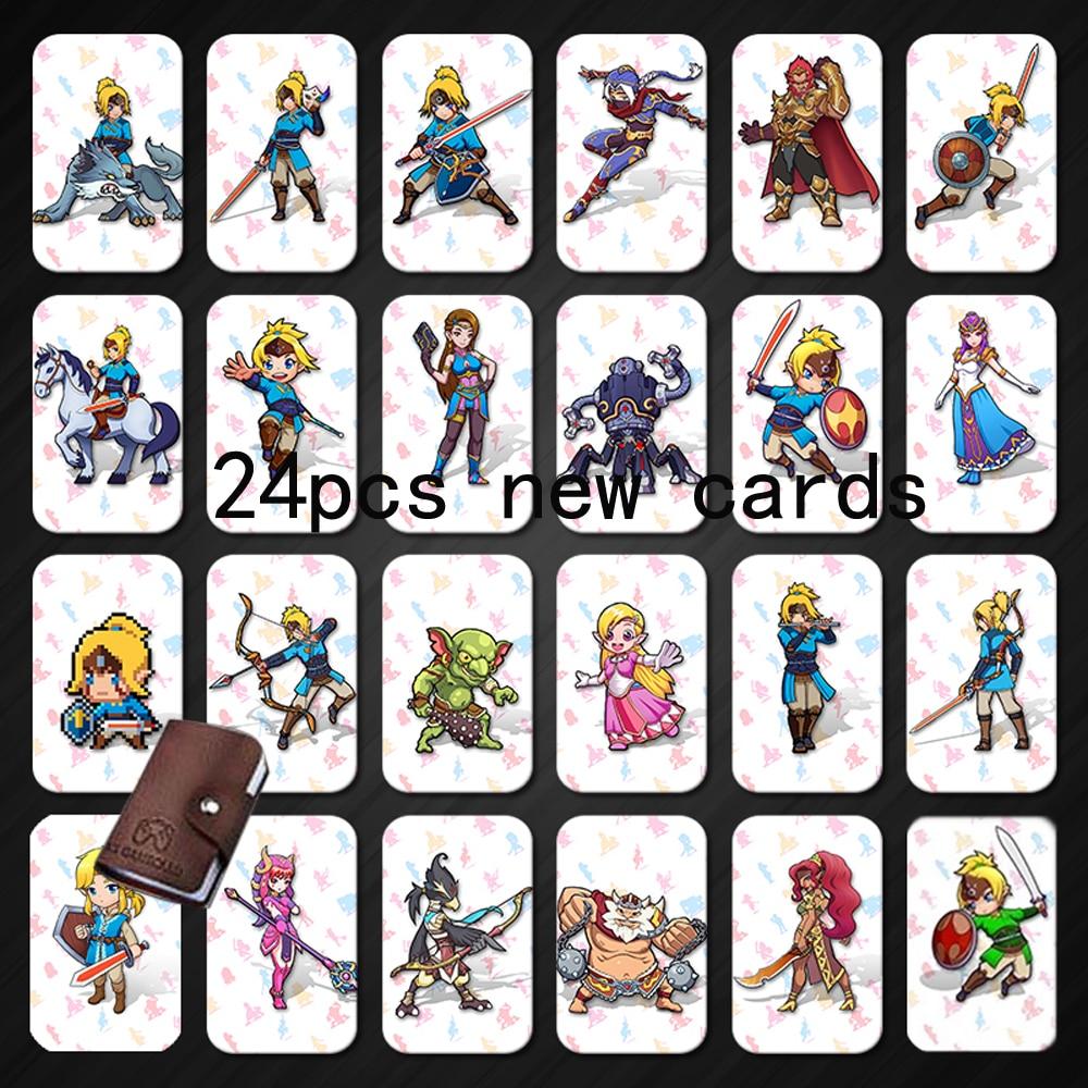 [해외]Amiibo nfc 215 태그 게임 카드 (식물 스위치 용) 젤다 브레스 와일드 슈퍼 마리오 스매쉬 카트 브라더스 odyddey splatoon 2 kriby ultimate/Amiibo nfc 215 태그 게임 카드 (식물 스위치 용) 젤다