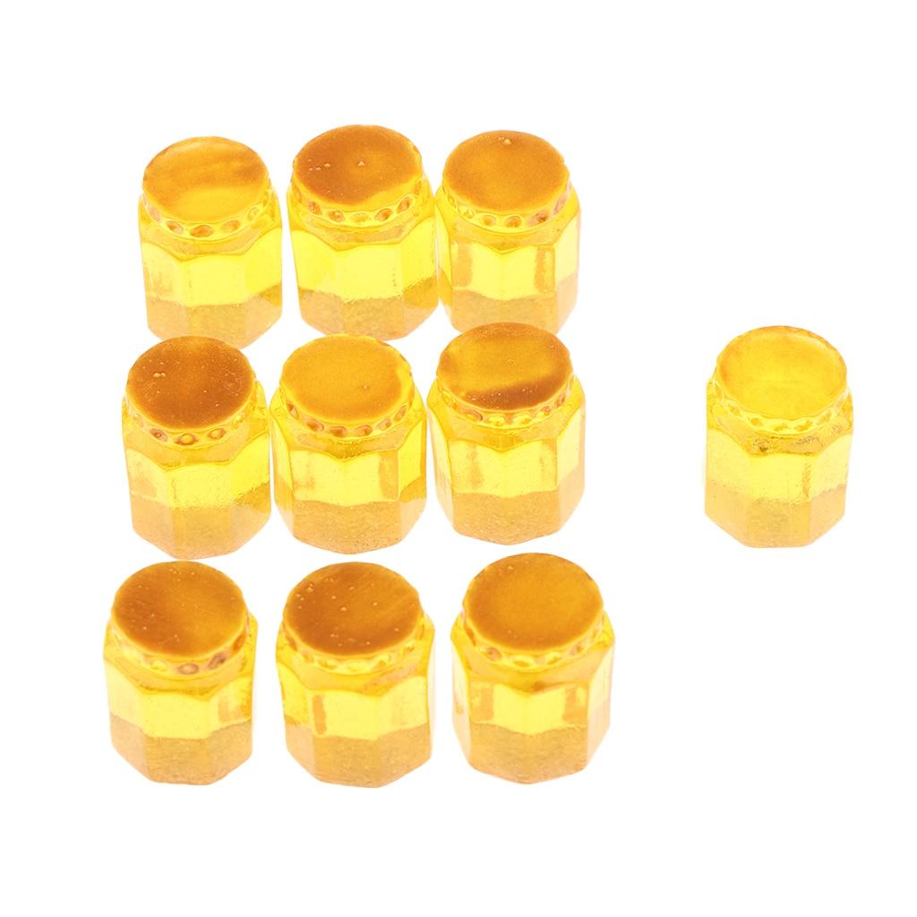 [해외]Magideal 10 pieces 1/12 dollhouse 소형 통조림 꿀 주방 장식 옐로우/Magideal 10 pieces 1/12 dollhouse 소형 통조림 꿀 주방 장식 옐로우
