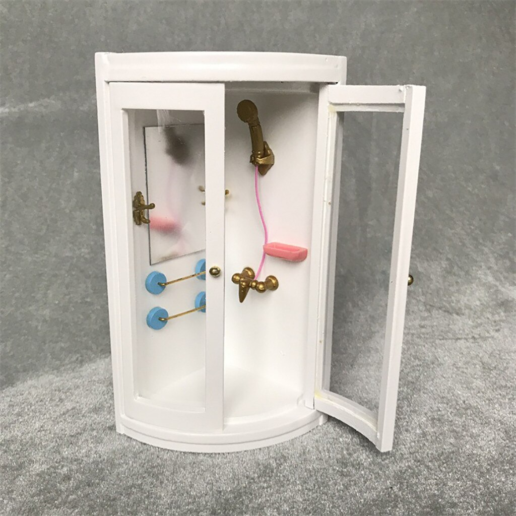 [해외]1 pc 소형 인형 집 가구 시뮬레이션 샤워 룸 현대 욕실 인형 집 미니어처 1:12 액세서리 a513/1 pc 소형 인형 집 가구 시뮬레이션 샤워 룸 현대 욕실 인형 집 미니어처 1:12 액세서리 a513