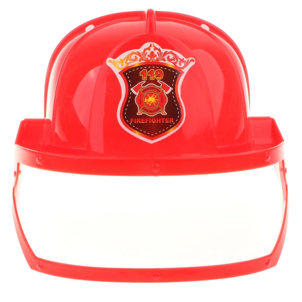[해외]키즈 플레이 소방관 안전 헬멧 소방관 모자 의상 파티 역할 놀이 장난감/키즈 플레이 소방관 안전 헬멧 소방관 모자 의상 파티 역할 놀이 장난감