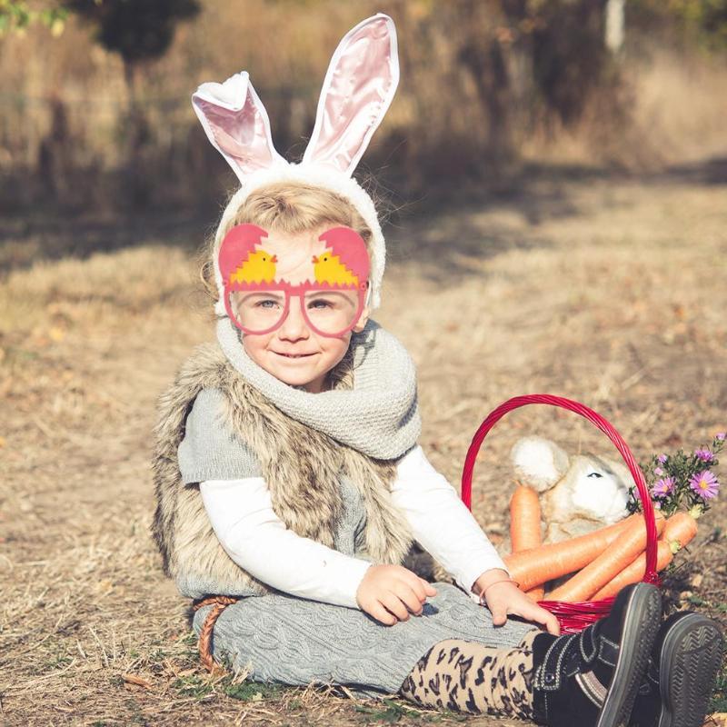 [해외]부활절 달걀 깨진 부활절 공 파티 재미 있은 프로젝트 안경 아름다움 화장품 완구