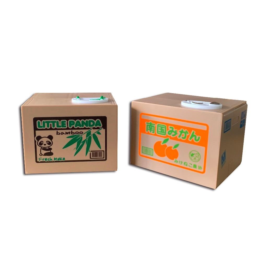 [해외]고품질 자동 훔치는 동전 고양이 키티, 돼지 저금통, 돈 상자, 저장 상자
