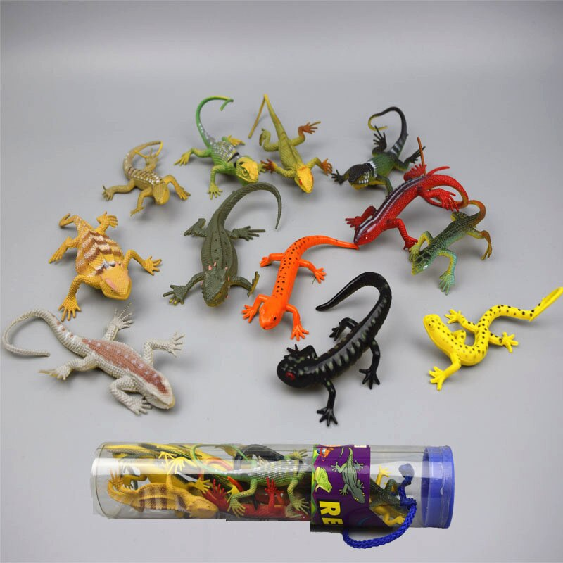 파충류 도마뱀 모형 인형 작은 장난감 플라스틱 인형 세트 Simulation 괴물 카멜레온 for Kids/Reptile Lizard models figures figurines set toys small plastic Simulation monster Cham